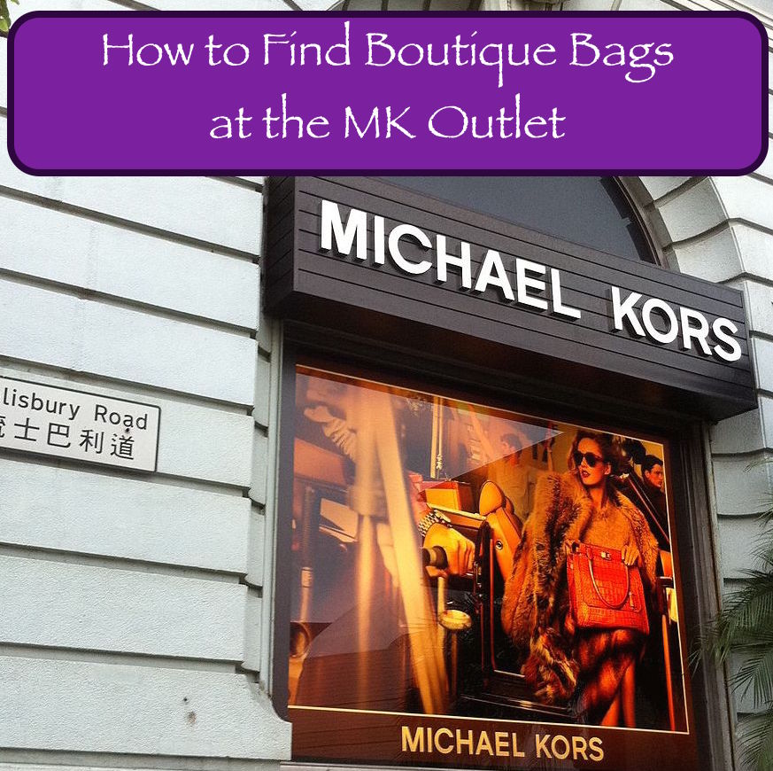How To Tell The Difference Between Boutique Michael Kors